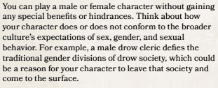 D&D 5th Edition On Gender Part 1